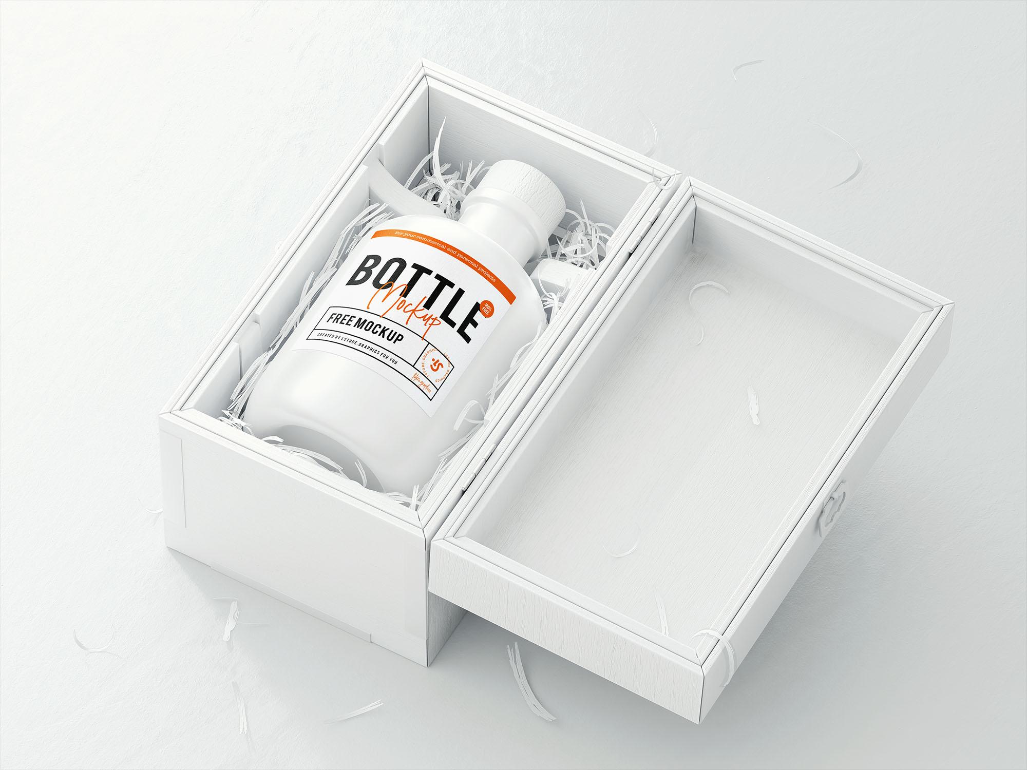 Bottle Logo Mockup